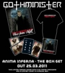 Gothminister - Anima Inferna (Limited Box Set)