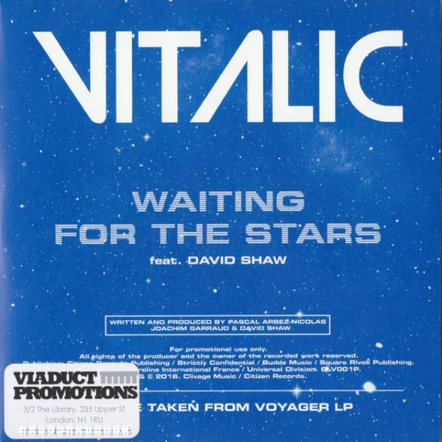 Vitalic - Vitalic Feat. David Shaw (3) ‎– Waiting For The Stars