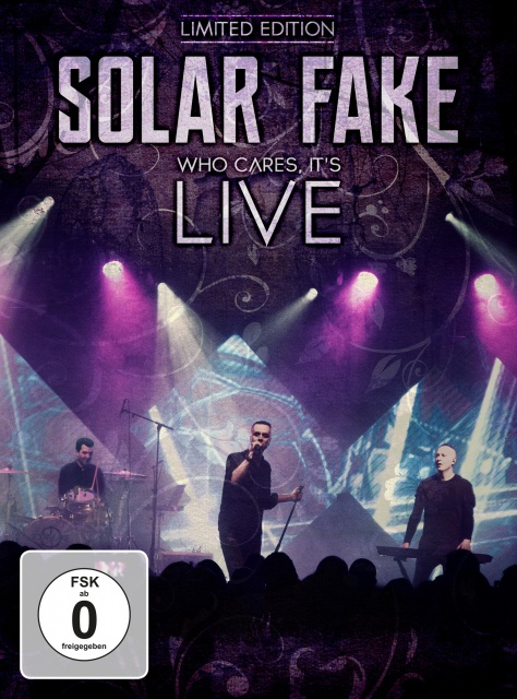 Solar Fake - Who Cares, It's Live (2CD+DVD)