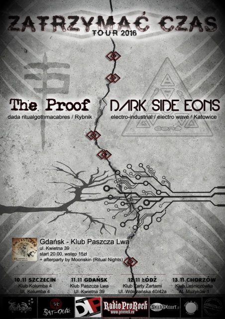 Dark Side Eons + The Proof - Gdansk, Paszcza Lwa