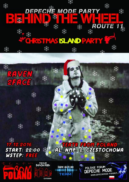 Behind The Wheel: Depeche Mode Party 11 - Christmas Island Party - Czestochowa, Galeria Teatr from Poland