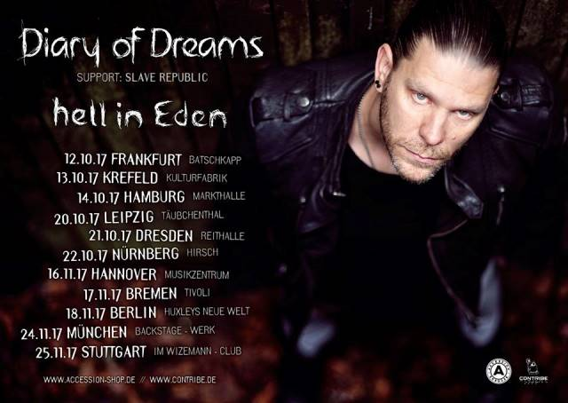 Diary Of Dreams Tour 2017 - Hanover, MusikZentrum Hannover