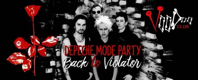 Depeche Mode Party - Back To Violator - Warsaw, VooDoo Club