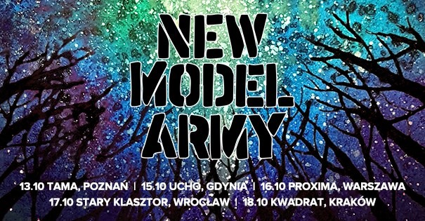 New Model Army Official Even - Cracovia, Kwadrat