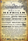 Full line up Castle Party 2016!