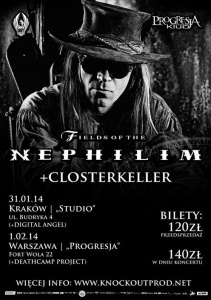 Fields of the Nephilim in Warsaw