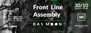 Front Line Assembly and Das Moon in Gdańsk