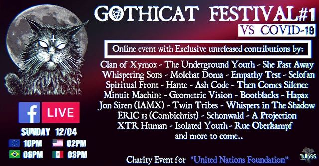A sign of our time - Gothicat Festival#1 live stream